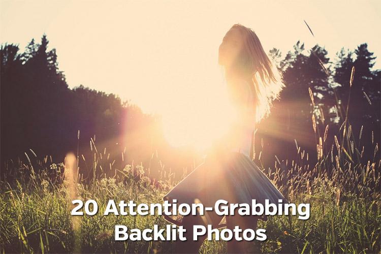 20 Attention-Grabbing Backlit Photos