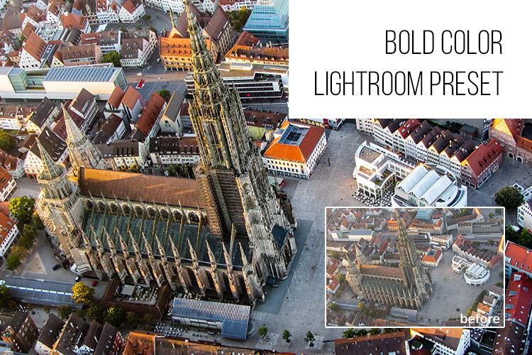 Free Bold Color Lightroom Preser