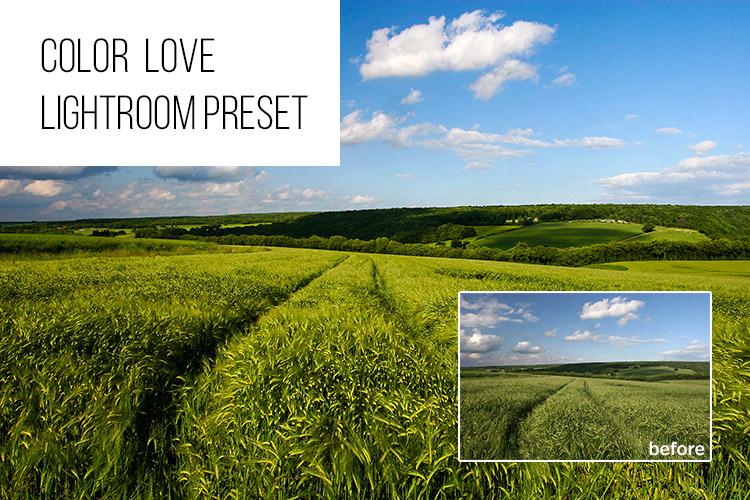 Color Love: Free Lightroom Preset