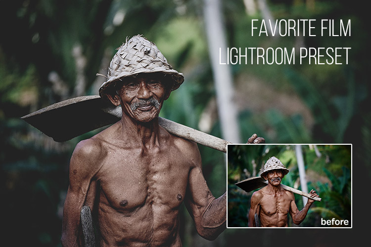 Favorite Film: Free Lightroom Preset