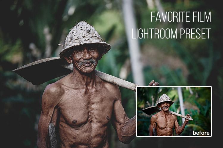 Favorite Film: Free Lightroom Preset