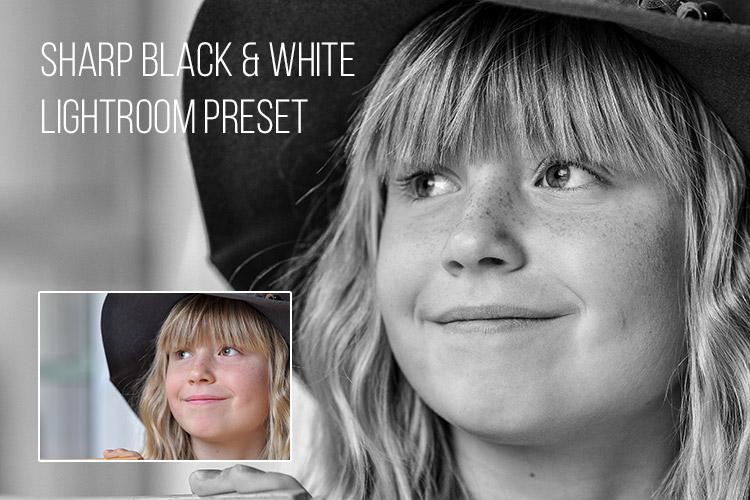 Sharp Black & White: Free Lightroom Preset