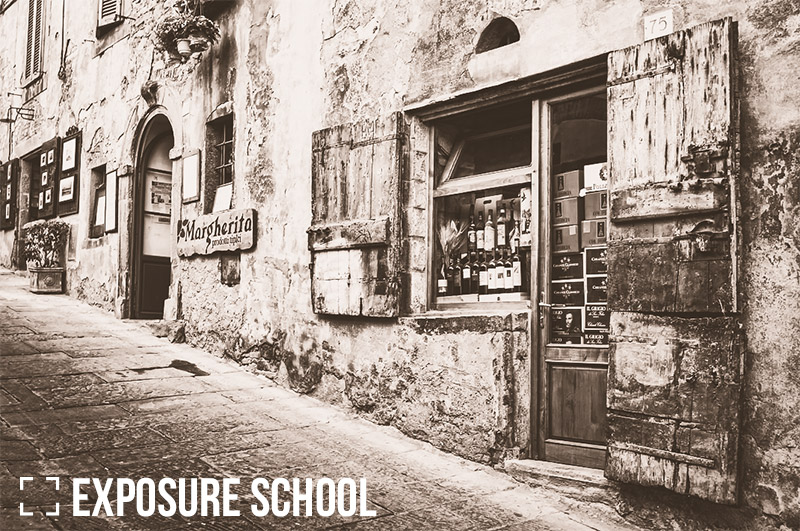 How to Create a Vintage Black & White Effect in Lightroom
