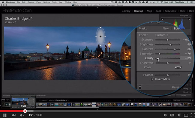 How to Enhance Your Photos with Lightroom's Radial Filter