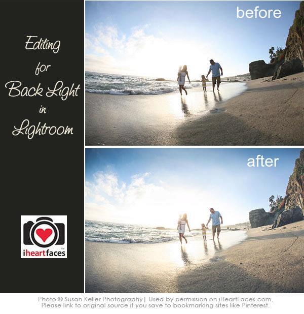 Backlit Photo in Lightroom