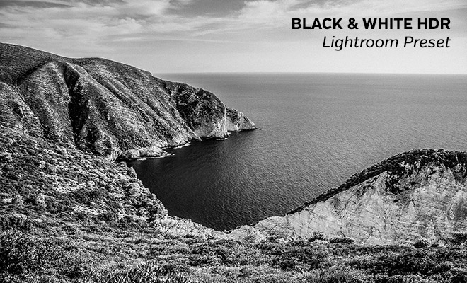 Black & White HDR Lightroom Preset