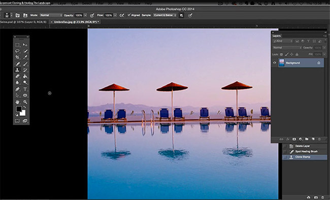 Remove Unwanted Objects in Photoshop with Cloning and Healing