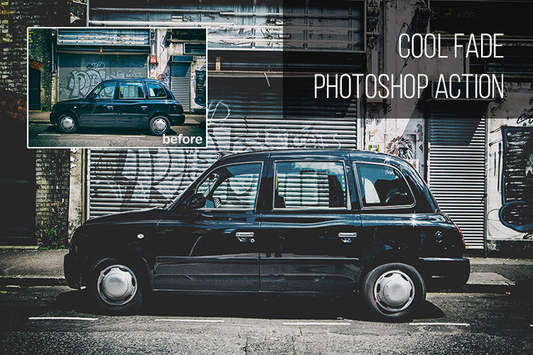 Cool Fade: Free Photoshop Action