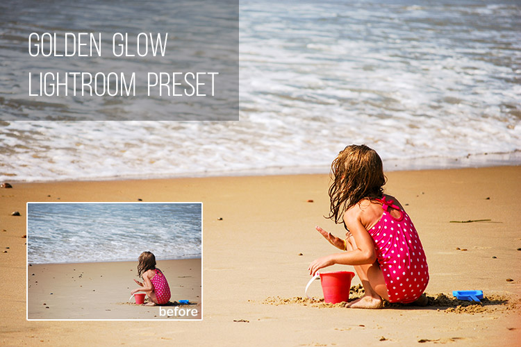 Golden Glow Lighroom Preset