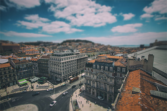 Create a Tilt Shift Effect in Photoshop