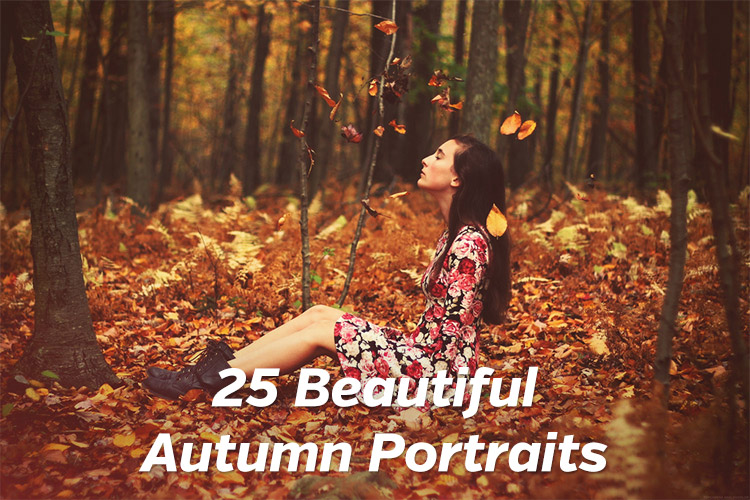 25 Beautiful Autumn Portraits