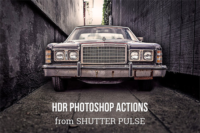 Photoshop Actions from Shutter Pulse