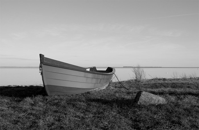 Working with the Black & White Mix Settings in Lightroom